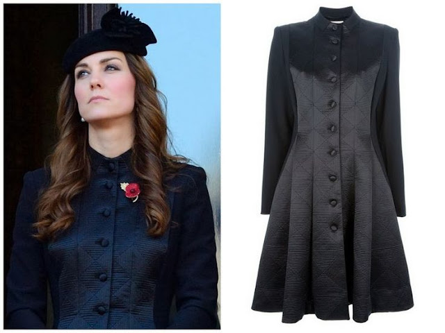 Catherine,Duchess of Cambridge in Temperley London