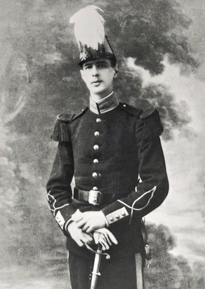 Charles de Gaulle at Saint Cyr military academy