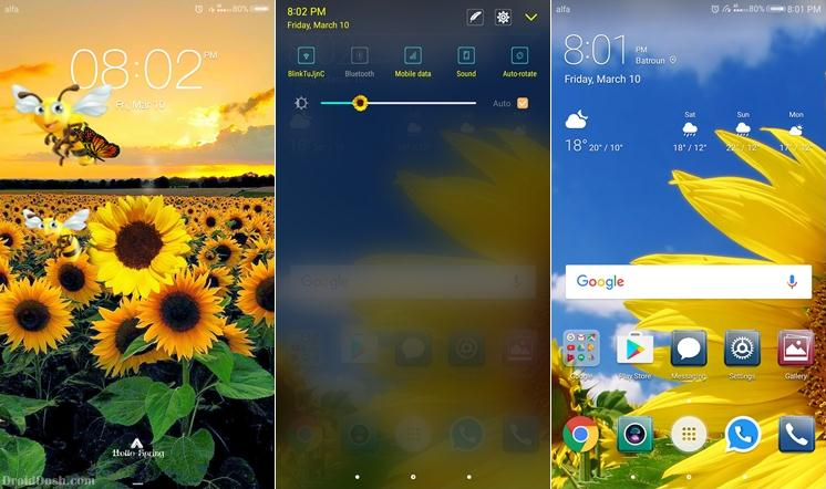 Hello Spring Theme for EMUI 5.0 (Huawei Theme)