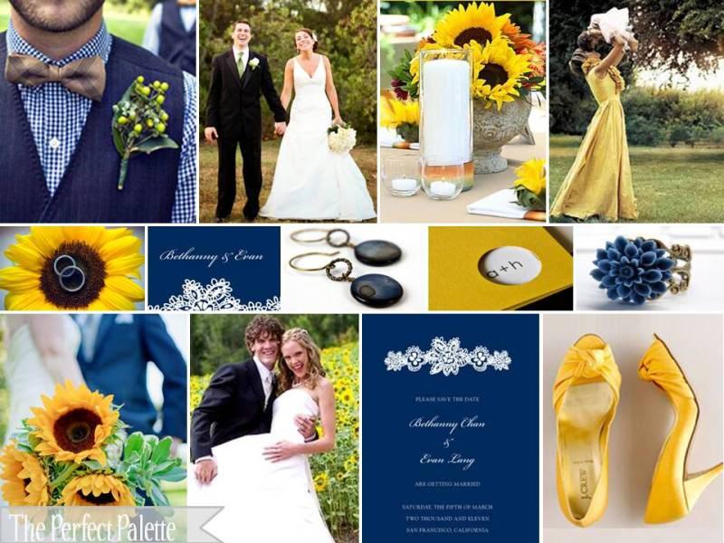 Dark Blue And Yellow Wedding: Il Cassetto Dei Desideri: Aprile 2012