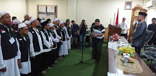 Dr Amran Nasution LC Pimpin Mualaf Center Indonesia Regional Jambi.