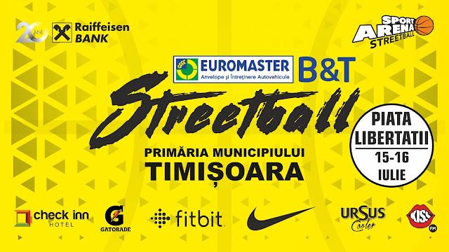 Streetball in Piata Libertatii in perioada 15-16 iulie