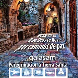 Un sueño alcanzable es visitar #TierraSanta recorriendo los pasos de #Jesús.
