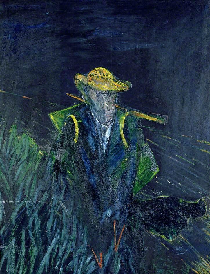 フランシス・ベーコンのヴァン・ゴッホの肖像のための習作Ⅰ