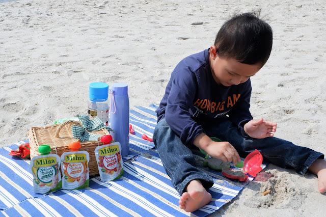 solusi mudah makan buah untuk si kecil dengan milna nature delight