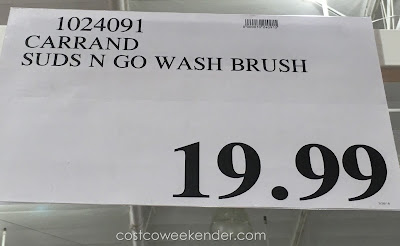 Deal for the Carrand Autospa Suds N Go Wash Brush at Costco
