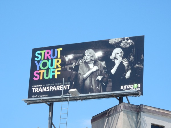 Strut your stuff Transparent 2015 Emmy billboard