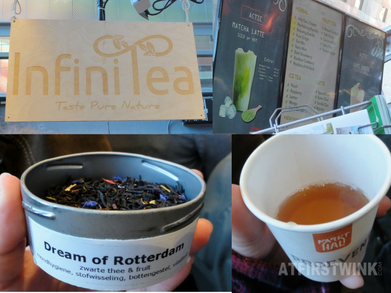 InfiniTea markthal netherlands dream of Rotterdam tea tasting