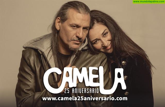 Camela elige moda palmera para inaugurar su gira de conciertos en España