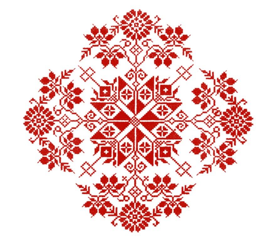 Contoh Motif Bordir Ornament Decorative Bordir