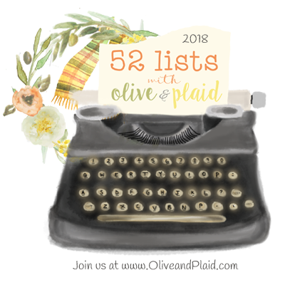52 lists with Olive & Plaid