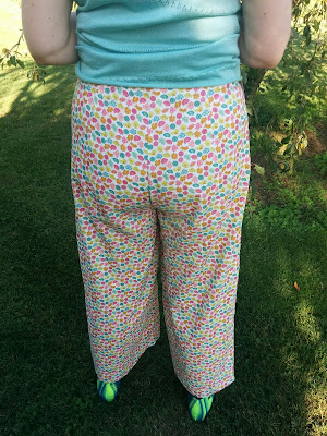 Creates Sew Slow: Megan Nielsen Flint Lydia Trousers