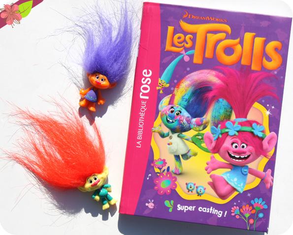 Les Trolls - Super casting ! - Bibliothèque rose - hachette