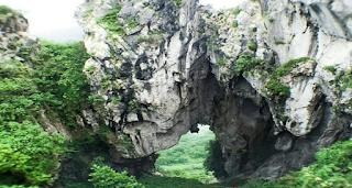 lokasi wisata tebing gunung hawu