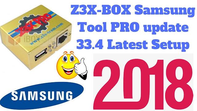 حصريا اخر اصدار من العملاق : Z3X-BOX Samsung Box PRO 33.4