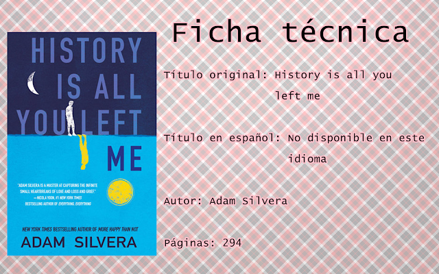 """Reseña: """"History is all you left me"""""""