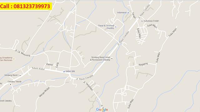 Ciwidey map