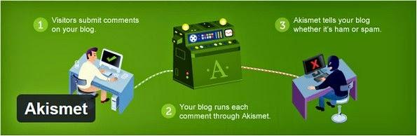 Akismet plugin for WordPress