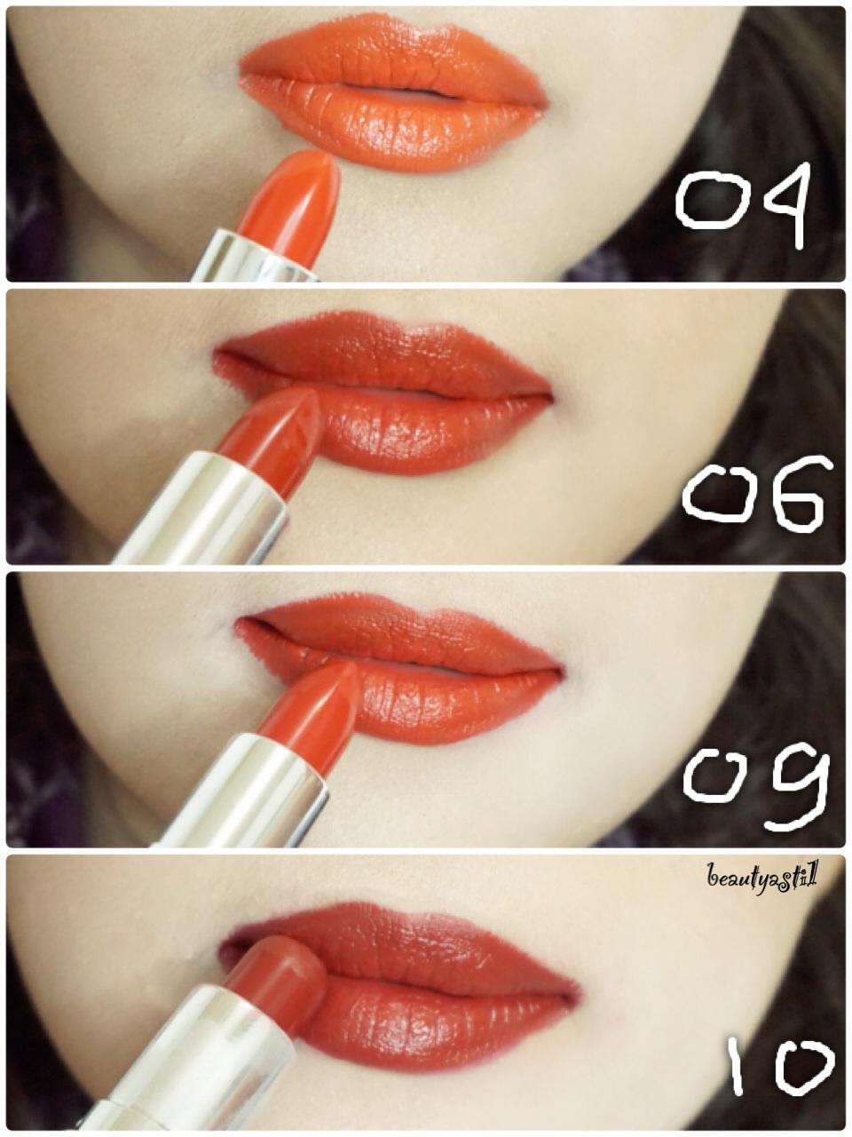 Wardah Matte Red Lipstick 04 06 09 10 Review Beautyasti1 Lip No 8 Ingredients