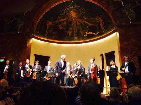 The Sixteen at the Wigmore Hall, photo - Wigmore Hall