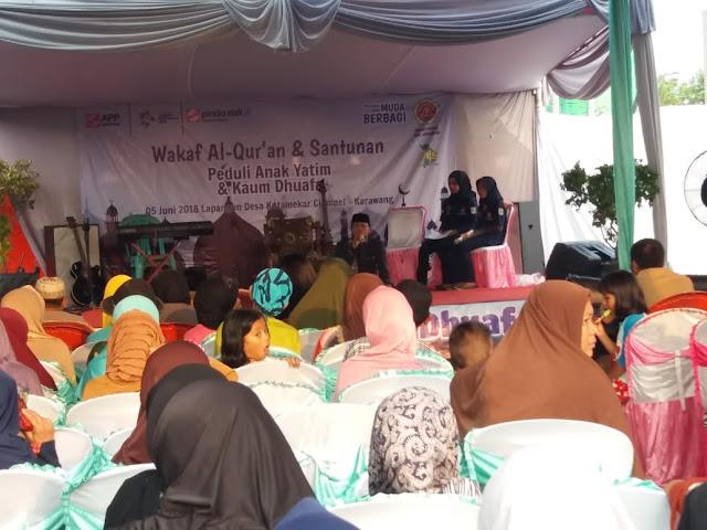 Pindo Deli Pulp Wakafkan 2000 Al Quran