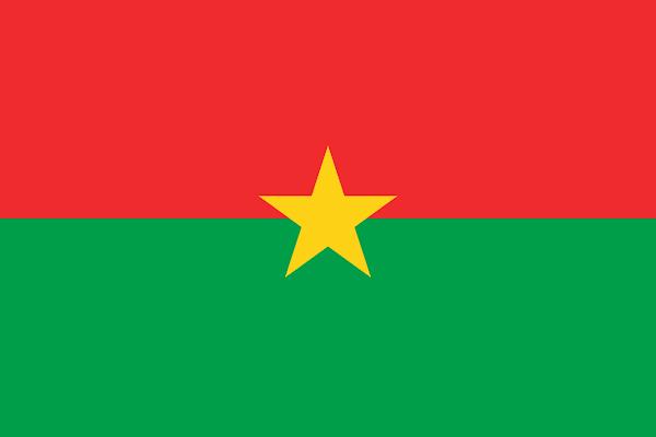 Logo Gambar Bendera Negara Burkina Faso PNG JPG ukuran 600 px