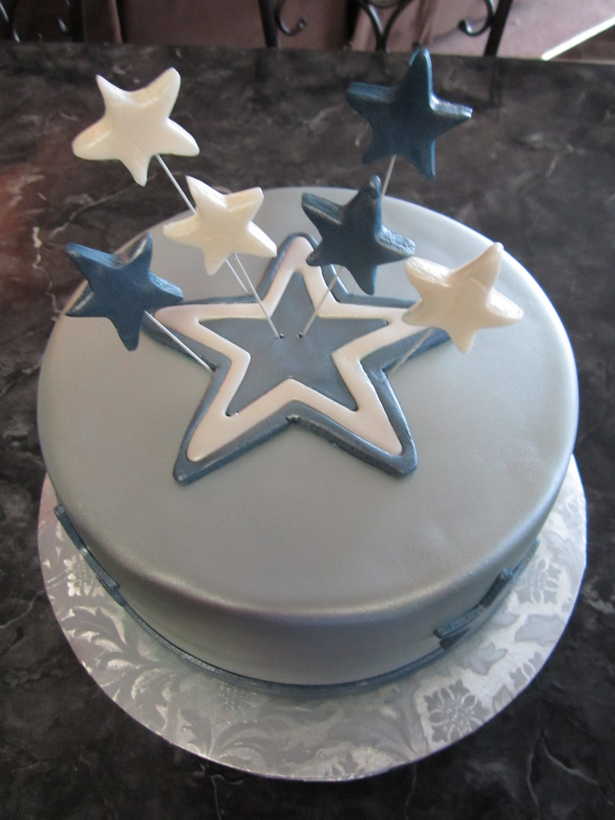 Mymonicakes Dallas Cowboys Cake