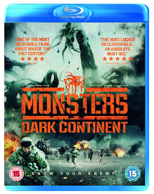 Monsters Dark Continent 2014 Daul Audio 720p BRRip 600Mb HEVC x265