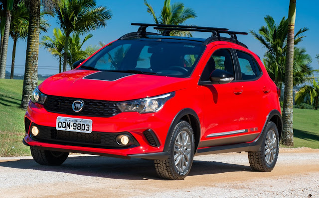 Fiat Argo - 5º carro mais vendido do Brasil - maio de 2020
