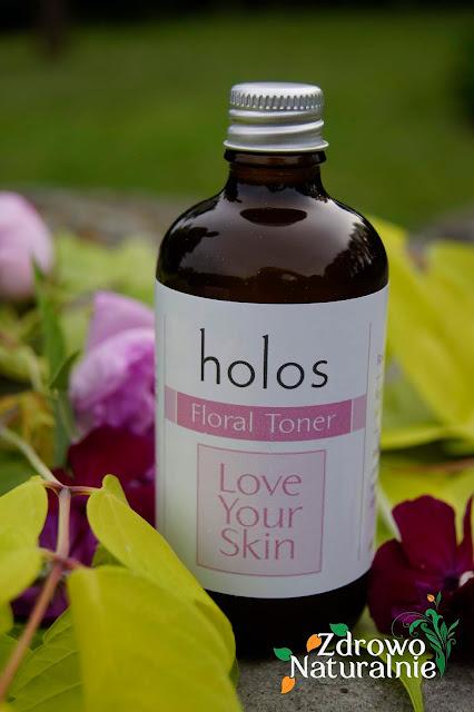 Holos SkinCare from Nature - Organiczny tonik różany