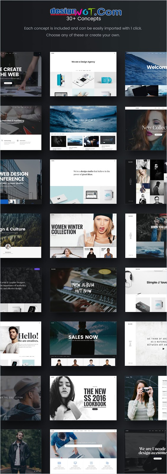 Uncode - Creative Multiuse WordPress Theme