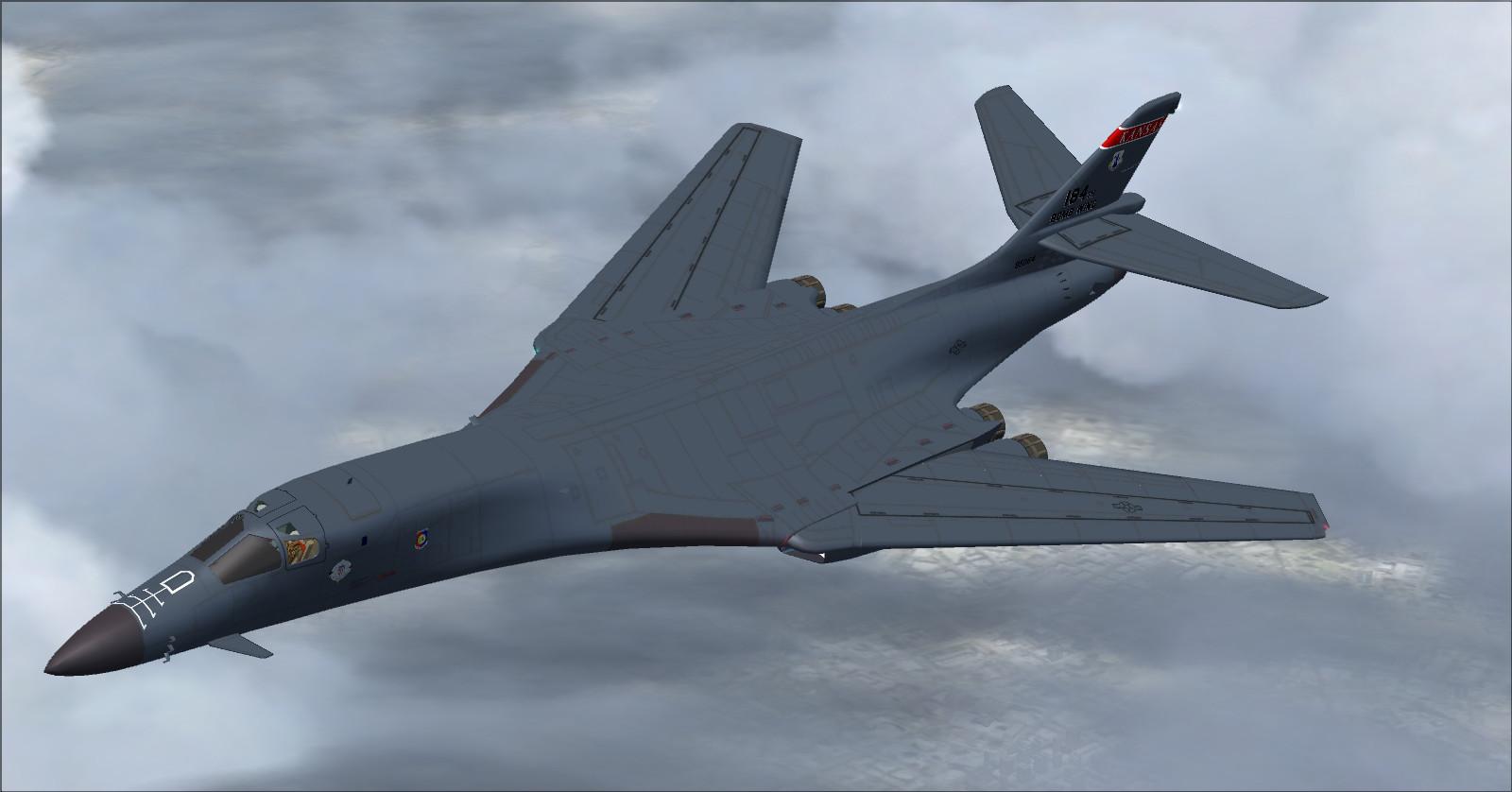 The Brick Brothers: B-1B Lancer Paper Airplane B1 Lancer Supersonic