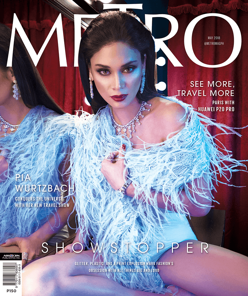 Metro Magazine's cover captured by P20 Pro, just wow!