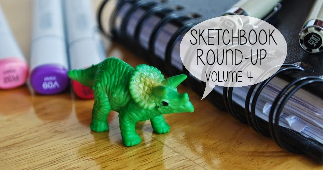 Sketchbook Round-Up: Volume 4 | Yeti Crafts
