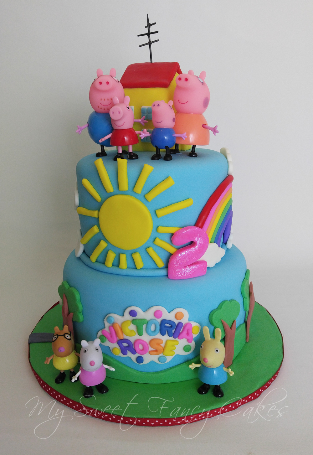 Peppa Birthday Cake Ideas