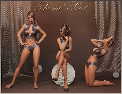 Bared Soul Poses for Genesis 3 Female and Victoria 7