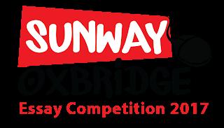Sunway Oxbridge Essay Competition