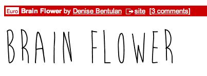 Foundation Portfolio Blog: Credits & Fonts from dafont com