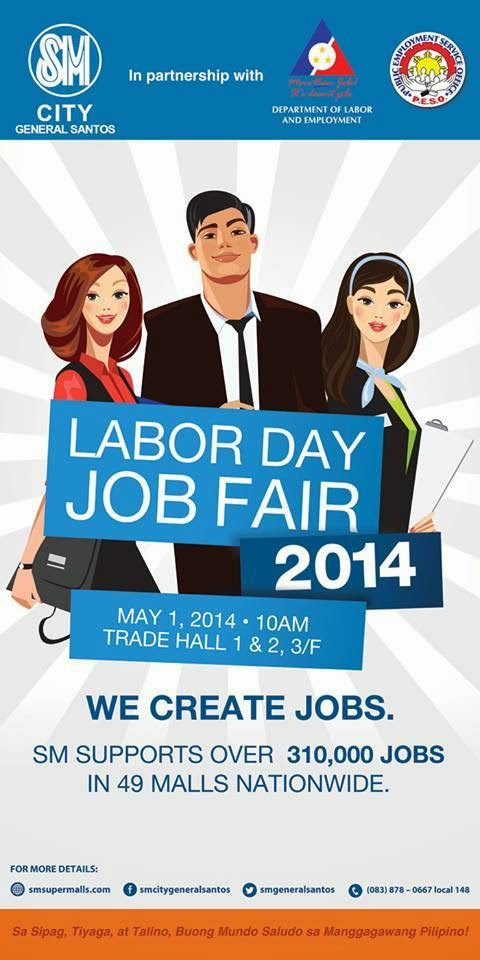 Labor Day Job Fair at SM CITY General Santos
