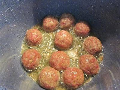 Albóndigas en salsa de tomate olla GM