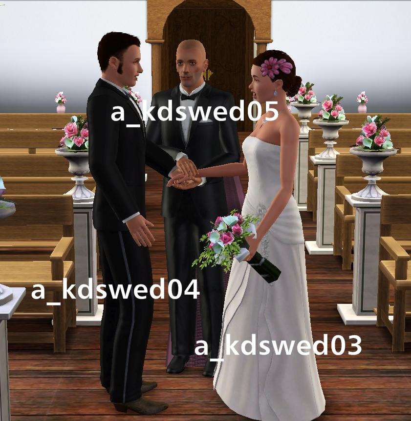 Kiddo's Dreams: The Wedding March