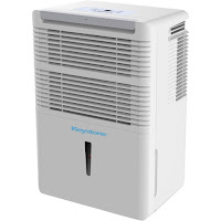 Keystone KSTAD50B Energy Star 50 Pint Dehumidifier, control humidity, remove up to 50 pints of moisture from the air per day, includes washable dust filter
