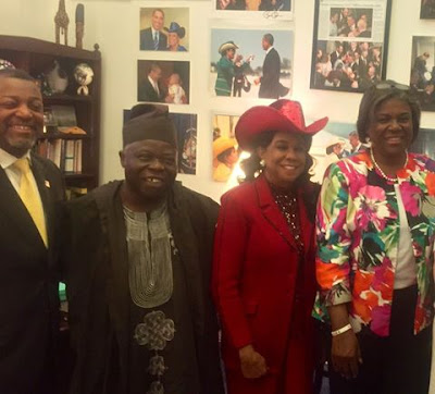 Nigerian Man Appreciates Woman Who Granted Him Visa To America 32 Years Ago (Photos)