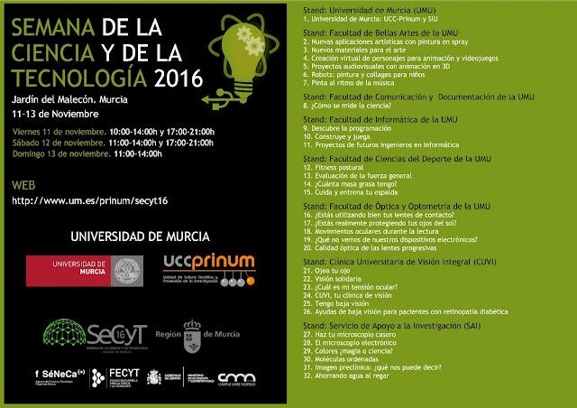 SeCyT'16 - Universidad de Murcia