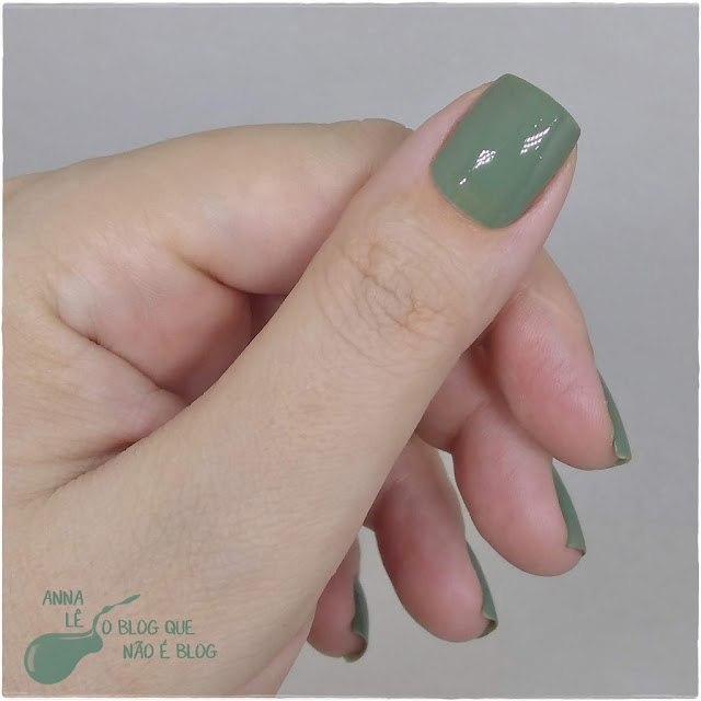 Militar Colorama Esmalte Nailpolish Verde Vert Green