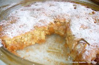 Яблочный пирог восторг