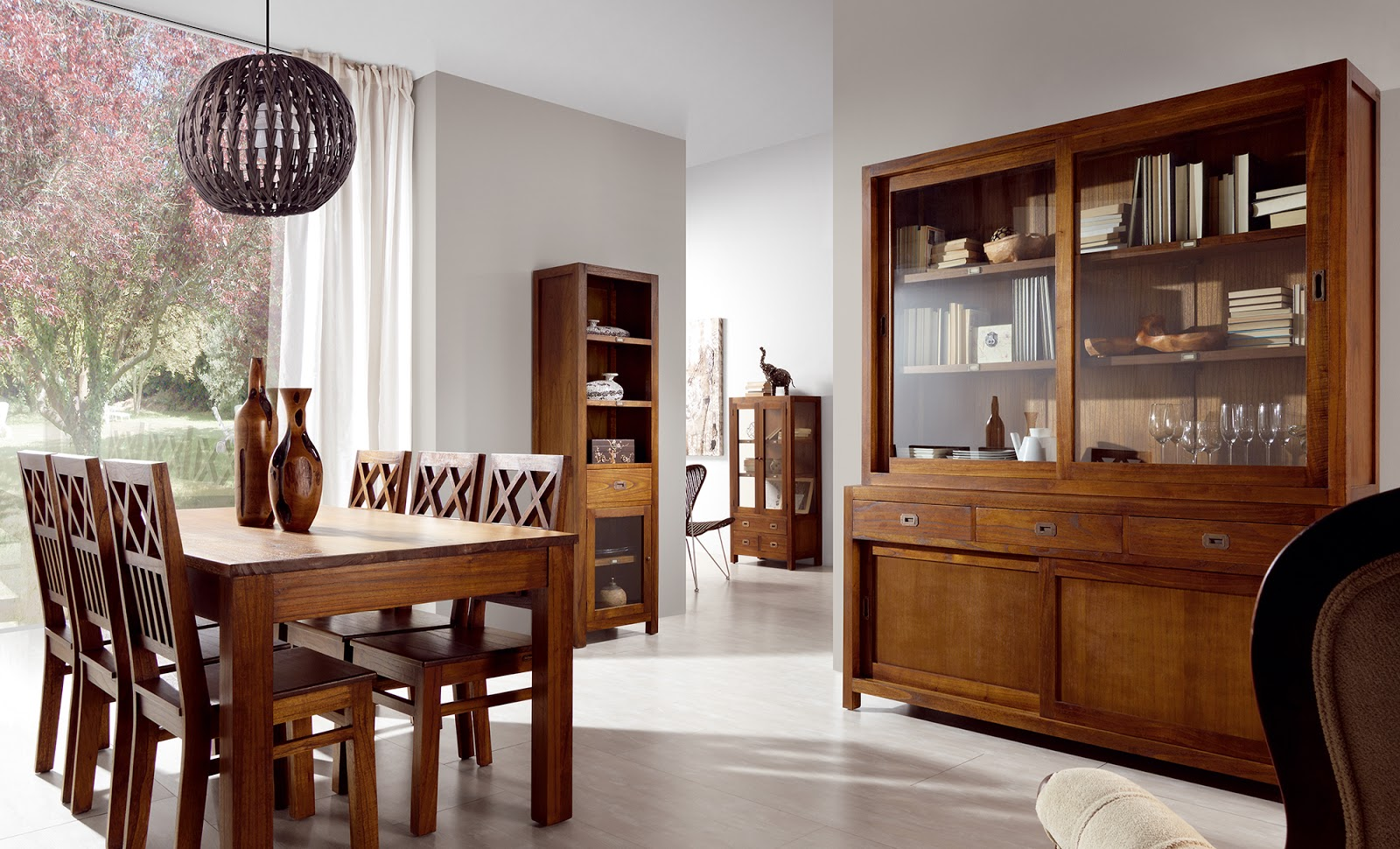 Muebles de comedor 10 comedores con vitrina - Muebles modernos para comedor ...
