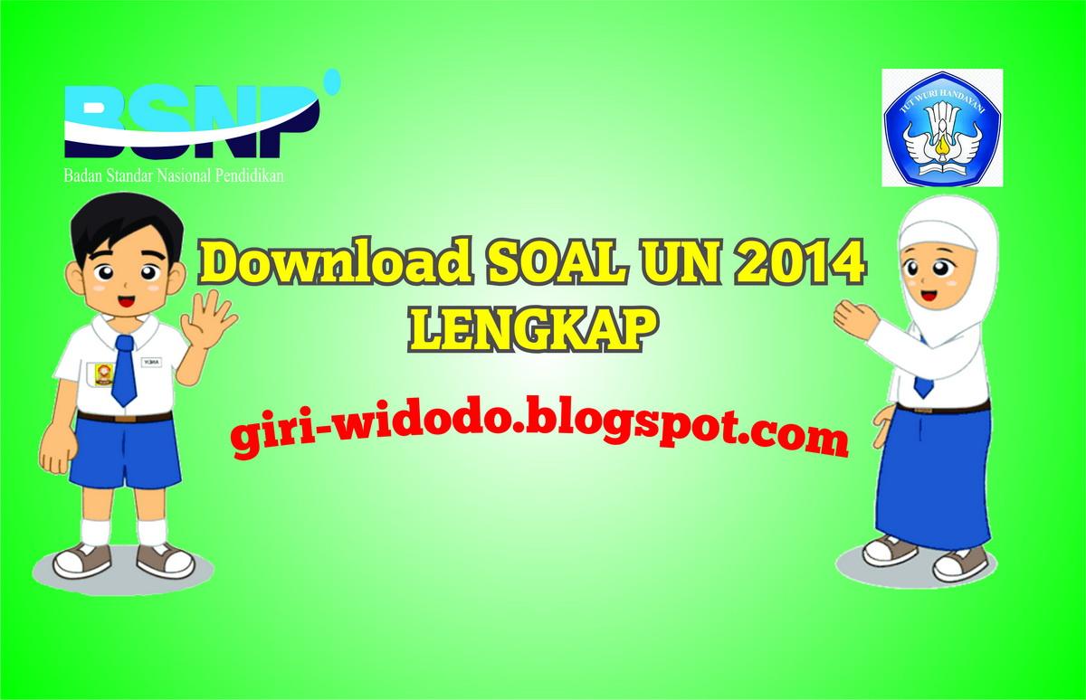 Download Soal Un Smp 2014 Lengkap 20 Paket Soal Giri Widodo