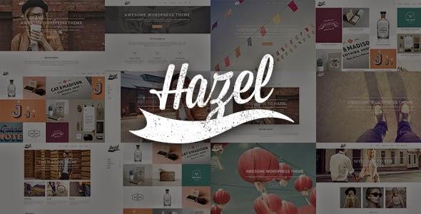 Hazel v2.2 Multi-Concept Creative WordPress Theme