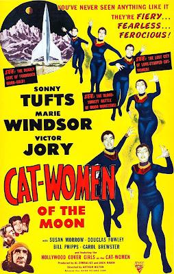 Portada película Las mujeres gato de la luna
